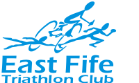 Logo for East Fife Tri Club 2016/2017