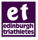 Logo for Edinburgh Triathletes