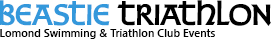 Logo for The Bikeless Beastie - Swim/Run Aquathlon