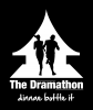 "Logo for The Dramathon (Relay) ""We Dram"""