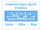 Logo for Cotswold Super Sprint Triathlon