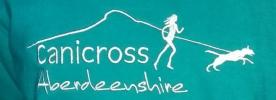 Logo for Crathes Canicross Day