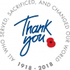 Logo for Carlisle Poppy Challenge – Leg it for the Legion