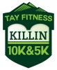Logo for Loch Tay Highland Lodges Killin 10K, 5K and Fun Run