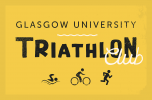 Logo for Glasgow University Aquathlon