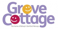 Logo for Santa Dash Grove Cottage. Online entry now closed but you can enter on the day. See you there....