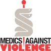 Logo for Medics against Violence 4th Annual Run for Health, Hope and Happiness