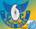 Logo for Kings Moss Cycling Club Sportive in aid of Cancer Fund for Children