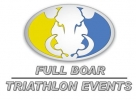 Logo for Full Boar Wild Boar Middle Distance Triathlon