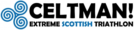 Logo for CELTMAN! Extreme Scottish Triathlon