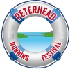 Logo for Peterhead Running Festival -Masson Glennie & MB Plant 5km