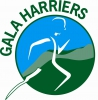 Logo for Gala Harriers 10k & 3k fun run