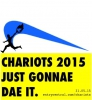 Logo for Chariots of Fire 5km beach race