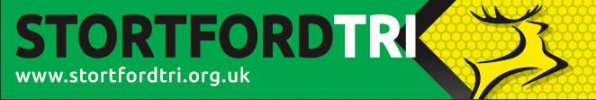 Logo for Stortford Tri Mid-week Aquathlon Series @ Redricks Lakes - Race 4