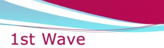 Logo for 1stWave Triathlon Camp in Edinburgh