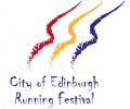 Logo for City of Edinburgh Running Festival