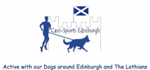 Logo for Cani-Sports Edinburgh's Canicross Races & Fun Day