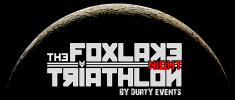Logo for Foxlake Night Triathlon