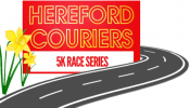 Logo for Hereford Couriers 5K Spring Road Race Series