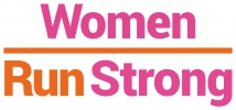 Logo for Women Run Strong - Yoga workshop