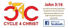 Logo for Cycle 4 Christ Cycle Club Membership