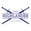 Logo for The Highlander  Duathlon, 'Escape the Redcoats'