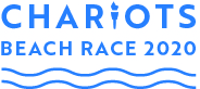 Logo for Chariots of Fire Beach Race 2020