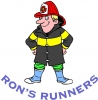 Logo for Rons Runners Spring Trail 5k Run - incorporating Ayrshire 5k Championships 2018