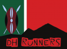 Logo for DH Runners Christmas Party and Awards Ceremony