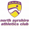 Logo for North Ayrshire Athletics Club Festival of Running