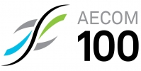 Logo for AECOM 100 Belfast Charity Cycle Sportive
