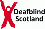 Logo for DB12Run Deaf Blind Scotland