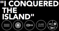 Logo for THE ISLANDER - Middle Distance Triathlon
