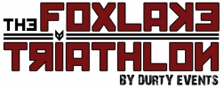 Logo for The Adventure Show Foxlake Triathlon