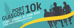 Logo for Port Glasgow 10k 2020
