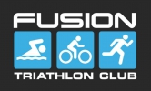 Logo for Fusion Triathlon Club Go Tri IT event