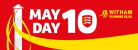 Logo for Witham May Day 10 mile