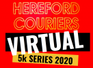 Logo for Hereford Couriers Virtual 5K Road Race Series 2020