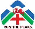 Logo for Run The Peaks Virtual Challenge